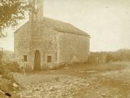 Crkva sv. Margarete u Prnjanima početkom 20. stoljeća, Barban. (fp. 563) Iz arhive Arheološkog muzeja Istre