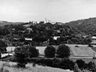 Pogled na Beram sa zapada krajem 80-ih, Beram. (fn. 20342) Iz arhive Arheološkog muzeja Istre