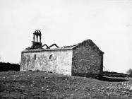 Crkva sv. Martina početkom 60-ih godina, Bičići. (bn. 6412) Iz arhive Arheološkog muzeja Istre