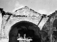 Crkva sv. Martina početkom 60-ih godina, Bičići. (bn. 6419) Iz arhive Arheološkog muzeja Istre
