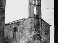 Crkva Svetog Kuzme 1956. godine, Boljun. (fn. 3958). Iz arhive Arheološkog muzeja Istre