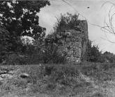 Ostaci crkve Svetog Petra u Boljunu sredinom 50-ih godina, Boljun. (fn. 3952). Iz arhive Arheološkog muzeja Istre