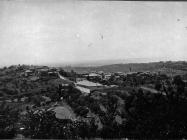 Pogled na grad 1953. godine, Buje. Iz arhive Arheološkog muzeja Istre