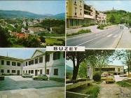 Buzet 70-ih godina, Buzet. Iz arhive Zavičajnog muzeja u Buzetu