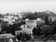 Pogled na Goričicu i hotel Fontana 80-ih godina, Buzet. (fn. 18795) Iz arhive Arheološkog muzeja Istre