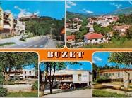 Prizori iz Buzeta 80-ih godina, Buzet. Iz arhive Zavičajnog muzeja u Buzetu