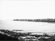 Pogled na Loron na mjesto antičke vile 1974. godine. (fn. 13582) Iz arhive Arheološkog muzeja Istre