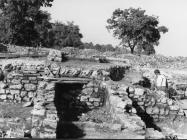 Iskopavanja na nalazištu antičke vile u Čevar portu 1978. godine, Červar. (fn. 16241) Iz arhive Arheološkog muzeja Istre