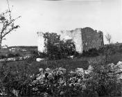Pogled na crkvu Svetog Križa početkom 60-ih godina, Tar. (bn. 5347, bp. 5049) Iz arhive Arheološkog muzeja Istre