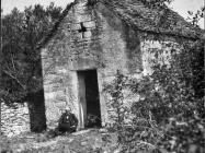 Crkva sv. Mihovila početkom 50-ih godina, Vodnjan. (bp. 27) Iz arhive Arheološkog muzeja Istre