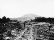 Područje nalaza antičke arhutekture 1969. godine, dolina rijeke Mirne Iz arhive Arheološkog muzeja Istre