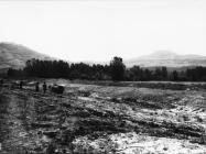 Područje nalaza antičke arhutekture 1969. godine, dolina rijeke Mirne. Iz arhive Arheološkog muzeja Istre