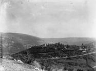Pogled na Dvigrad krajem 40-ih godina, Dvigrad. (fn. 304) Iz arhive Arheološkog muzeja Istre