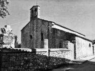 Pročelje crkve sv. Justa 1986. godine, Galižana. (fn. 367) Iz arhive Arheološkog muzeja Istre