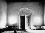 Unutrašnjost crkve sv. Marije 1968. godine, Galižana. (bn. 8490) Iz arhive Arheološkog muzeja Istre