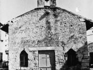 Crkva sv. Antuna 1986. godine, Galižana. (fn. 390) Iz arhive Arheološkog muzeja Istre
