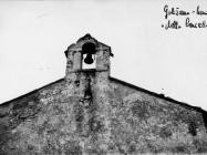 Preslica crkve sv. Marije 1968. godine, Galižana. (bn. 8491) Iz arhive Arheološkog muzeja Istre