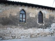 Bočni zid crkve Svetog Antuna opata. Galižana. Autor: Aldo Šuran (2010.)