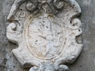Grb na zvoniku. Galižana. Autor: Aldo Šuran (2010.)