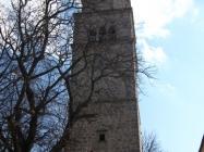 Zvonik župne crkve sv. Vida, Modesta i Kresencije, Gračišće. Autor: Željko Cetina (2013.)