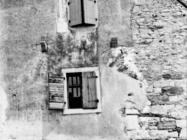 Kuća u Humu 1972. godine, Hum. (fn. 11812) Iz arhive Arheološkog muzeja Istre
