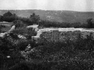 Crkva i samostan sv. Petronile 1955. godine, Kanfanar. (fn. 3316) Iz arhive Arheološkog muzeja Istre