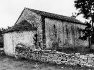 Crkva sv. Agate, Kanfanar. (fn. 33865) Iz arhive Arheološkog muzeja Istre