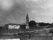 Pogled na Kanfanar početkom 50-ih godina, Kanfanar. (fn. 1147) Iz arhive Arheološkog muzeja Istre
