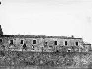 Samostanska zgrada 1971. godine, Sveti Mihovil na Limu. (bn. 10732) Iz arhive Arheološkog muzeja Istre