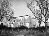 Crkva sv. Mihovila i samostan 1971. godine, Sveti Mihovil na Limu. (bn. 10745) Iz arhive Arheološkog muzeja Istre
