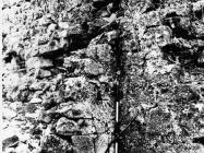 Kontrafora na razrušenoj kuli Turan 1991. godine, Koromačno. (fn. 24909) Iz arhive Arheološkog muzeja Istre