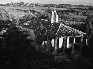 Crkva sv. Marije Magdalene krajem 50-ih godina, Labin. (fn. 5465) Iz arhive Arheološkog muzeja Istre