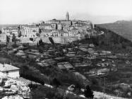 Pogled na grad s brda Svetog Mihovila krajem 50-ih godina, Labin. (fn. 5346) Iz arhive Arheološkog muzeja Istre