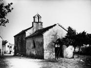 Crkva Svete Katarine 1973. godine, Lindar. (fn. 12034) Iz arhive Arheološkog muzeja Istre