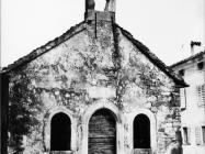 Crkva Svetog Sebastijana 1973. godine, Lindar. (fn. 12030) Iz arhive Arheološkog muzeja Istre