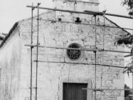 Župna crkva Svetog Flora u Loborici 1975. godine, Loborika. (fn. 14038) Iz arhive Arheološkog muzeja Istre