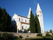 Crkva Svete Agneze, izgrađena 1894. godine, Medulin. Autor: Aldo Šuran (2010.)