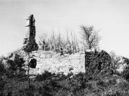 Crkva sv. Jakova kod Cukona 1974. godine, Mutvoran. (fn. 13478 a) Iz arhive Arheološkog muzeja Istre