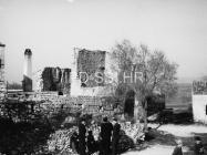 Pogled na zidine Mutvorana sa zapada 1957. godine, Mutvoran. (fn. 4248) Iz arhive Arheološkog muzeja Istre
