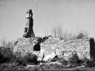 Crkva sv. Jakova kod Cukona 1957. godine, Mutvoran. (fn. 4251) Iz arhive Arheološkog muzeja Istre
