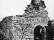 Crkva sv. Jakova kod Cukona početkom 50-ih godina, Mutvoran. (fn. 881) Iz arhive Arheološkog muzeja Istre
