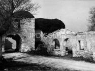 Glavni ulaz i loža u Mutvoranu 1972. godine, Mutvoran. (fp. 8307) Iz arhive Arheološkog muzeja Istre