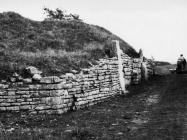 Ulaz u Nezakcij 1977. godine, Nezakcij. (fn. 15483 b) Iz arhive Arheološkog muzeja Istre