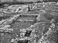 Pogled na terme početkom 70-ih godina, Nezakciji. (bn. 10998) Iz arhive Arheološkog muzeja Istre