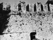Pogled na zidine s bedemom u Novigrad 80-ih godina. Novigrad (fn 19155.) Iz arhive Arheološkog muzeja Istre