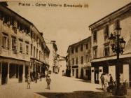 Stari trg, Pazin, snimljeno 20-ih godina 20. stoljeća. Izvor: grad-pazin.net