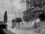 Crkva Svetog Spiridona 1920. godine, Peroj. Iz arhive Arheološkog muzeja Istre