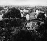 Pogled na naselje sa zvonika 60-ih godina, Peroj. (fn. 5546) Iz arhive Arheološkog muzeja Istre