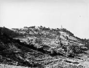 Pogled na Pićan s jugoistoka 1973. godine, Pićan. (fn. 12546) Iz arhive Arheološkog muzeja Istre