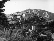 Pogled na Plomin, Plomin. (fp. 8336, foto Orel) Iz arhive Arheološkog muzeja Istre